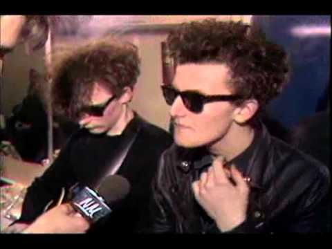 Jesus and Mary Chain TV Interviews 84-85