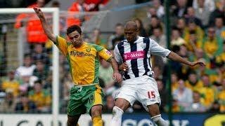Norwich City 1 West Bromwich Albion 2 - 2006/07 season