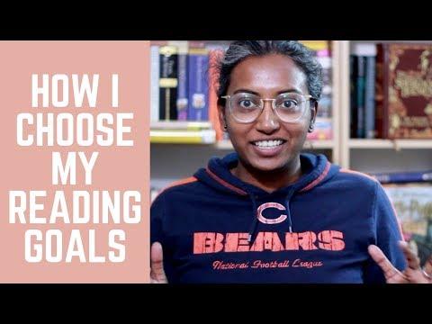 How I Choose My Reading Goals