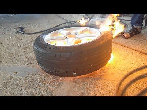 Tkrin benzinl doldurulmas (partlay)