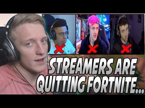 Tfue Explains The Reason Streamers Are QUITING Fortnite And MOVING To Apex Legends... thumbnail