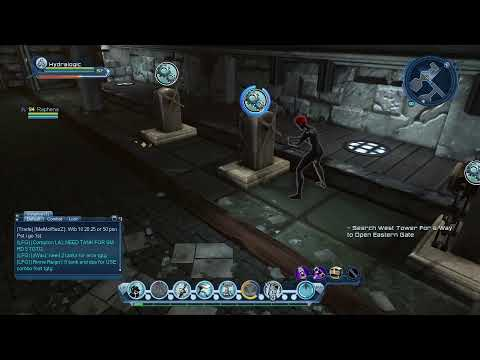 "DC Universe ""Ruined Cathedral"""