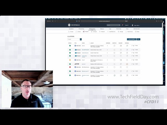 A Unified Approach to Clouds, Containers, and PaaS Services with Morpheus Data