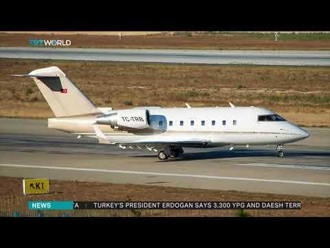 Private Turkish plane crashes in Iran