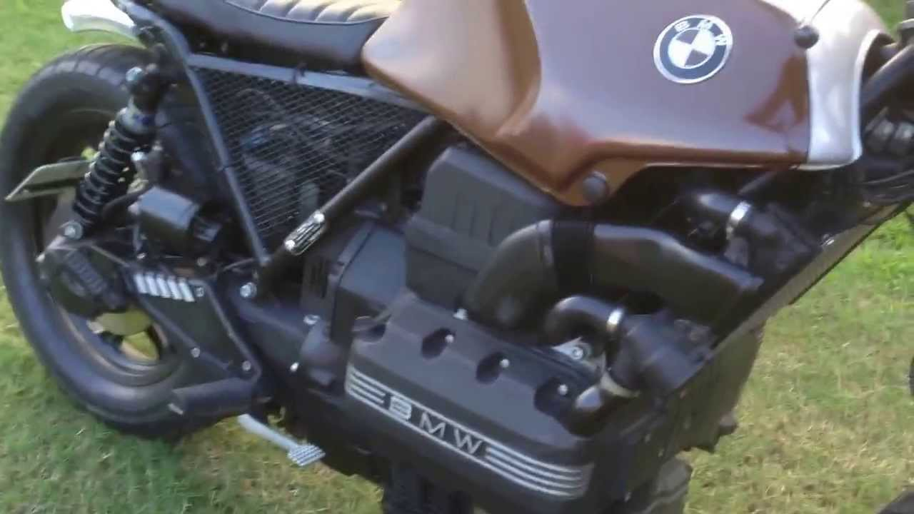 Bmw K75 Caf 233 Racer Youtube