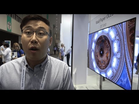 LG Display shows 8K 31.5', Wallpaper OLED, pOLED, Transparent OLED, 4K bezel-less and more