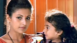 Baby Kavya fighting with Baladitya -  Little Soldiers Movie Comedy Scenes - Ramesh Arvind, Heera