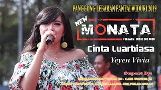 NEW MONATA - CINTA LUAR BIASA - YEYEN VIVIA - RAMAYANA AUDIO