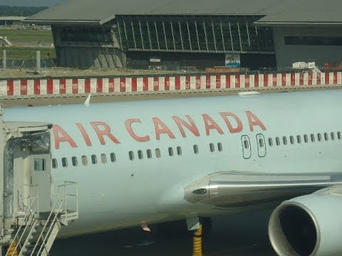 Air Canada Boeing 767-300ER Brussels-Montreal Economy class trip report (Jul 2013) + added features