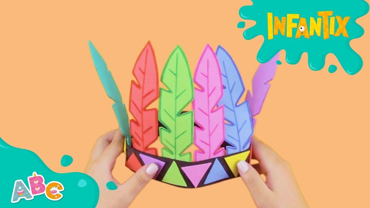 Desenhos De Indio Para Colorir Atividade Infantil