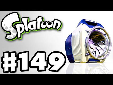 Splatoon - Gameplay Walkthrough Part 149 - Sloshing Machine! (Nintendo Wii U)