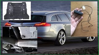 Opel Insignia заміна гофри глушника, ремонт кришки багажника