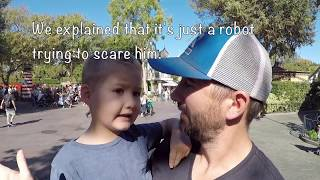 HOW TO SKIP LINES AT DISNEYLAND with TECH / RIDE TERRIFIES OUR CHILD :)