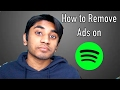How to Remove Ads on a Free Spotify Account!