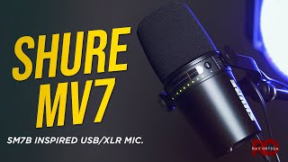 Shure MV7 USB/XLR Microphone Review