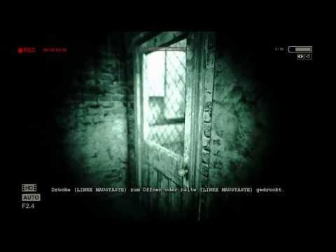 Let's Play Outlast Part #002 - Paranoia im Keller