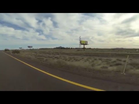 Empty Freeway holds Promise of High Speed Travel, Interstate 8 at 83 miles per hour, GP030063