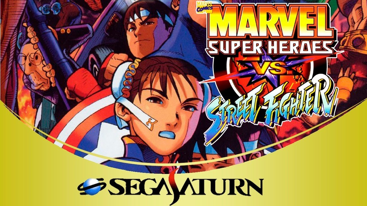Marvel Super Heroes vs. Street Fighter [Sega Saturn]