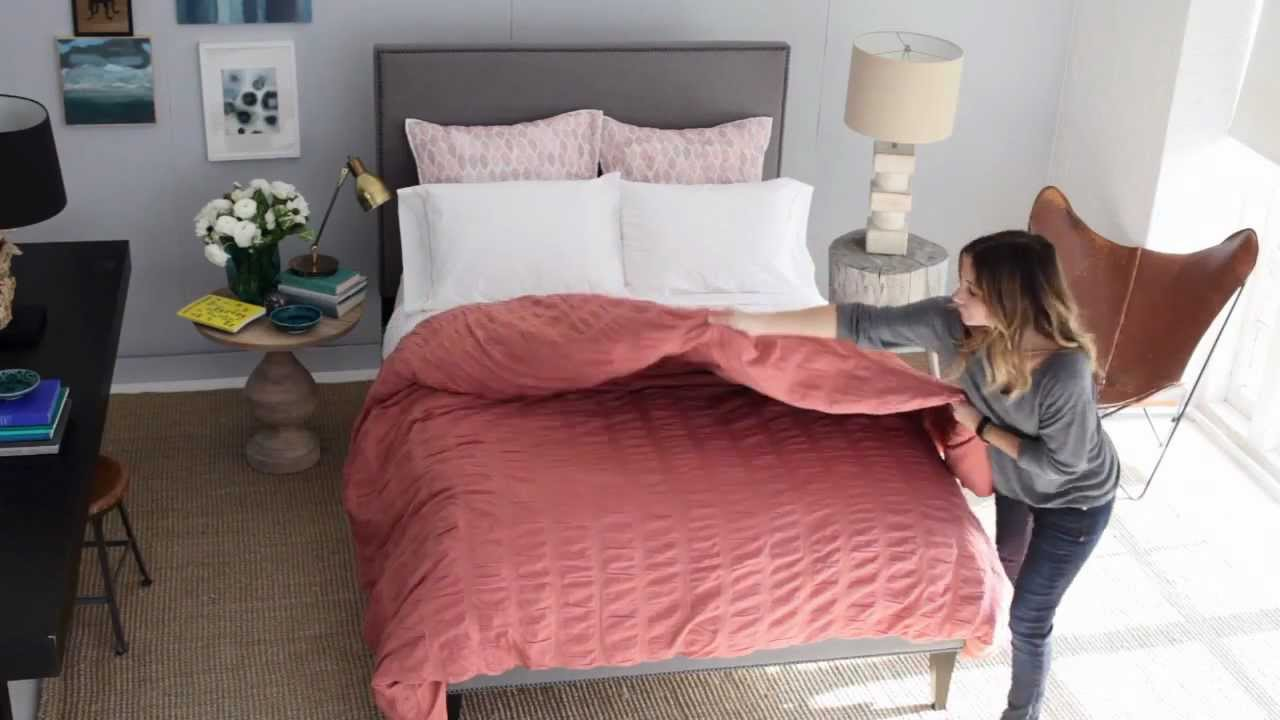 How to The Layered Bed  west elm  YouTube