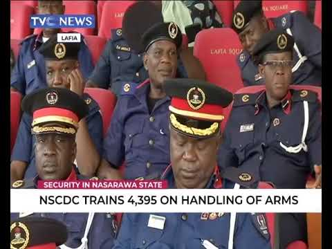 NSCDC trains 4395 officers on handling of arms