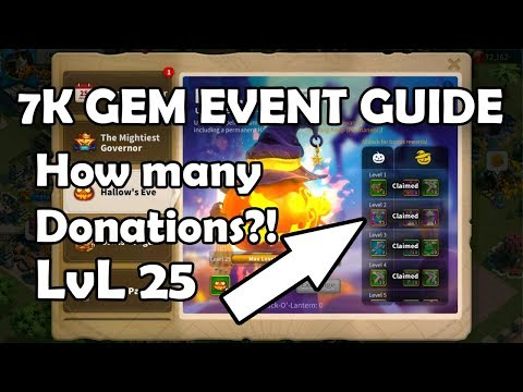 7K GEMS Event Guide Forever in RoK How Many Donations Needed   Rise of Kingdoms