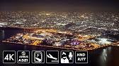 [4K東京湾遊覧夜景] ANA286便 羽田空港ランウェイ22アプローチ