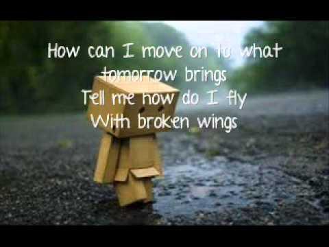 Nikki Flores ♥ Broken Wings Lyrics