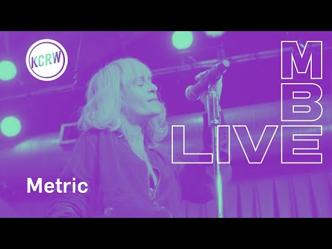 "Metric performing ""Now or Never Now""  on KCRW"