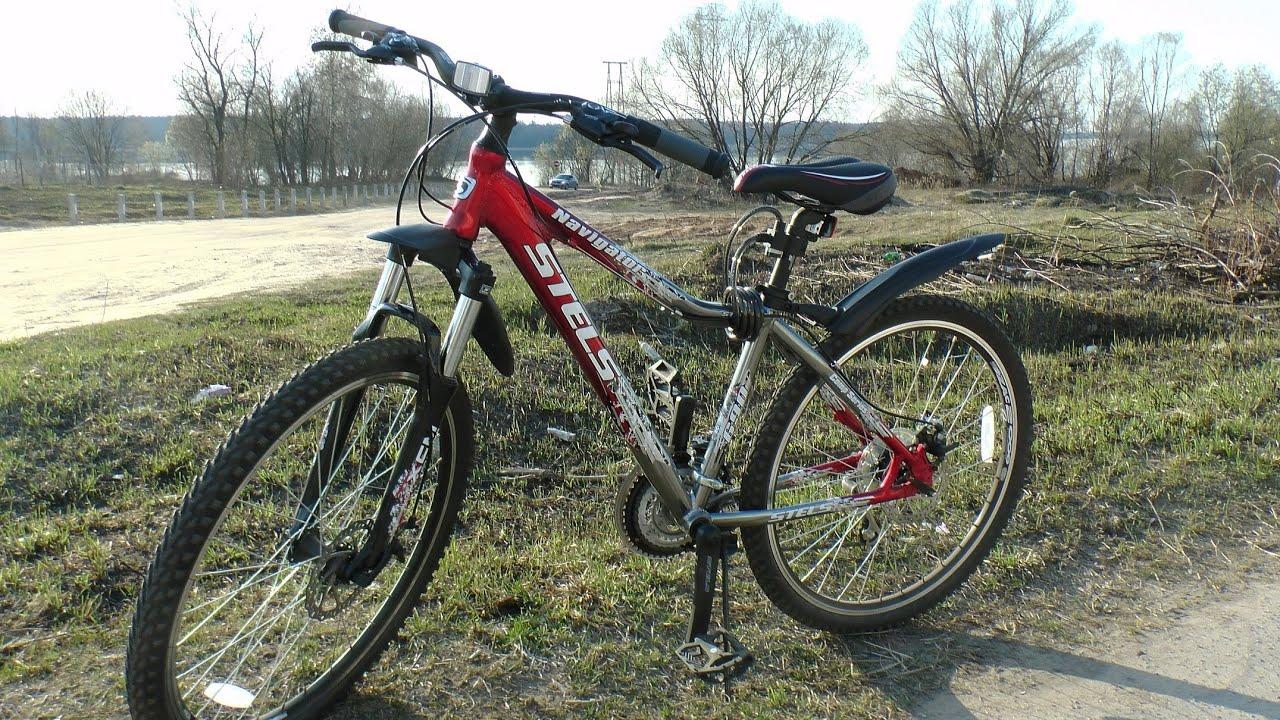 Обзор велосипеда Stels Challenger 26 V 2015 - YouTube