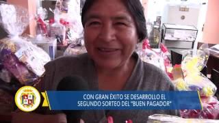 09 14 DISTRITO DE HUAURA segundo sorteo buen pagador rentas