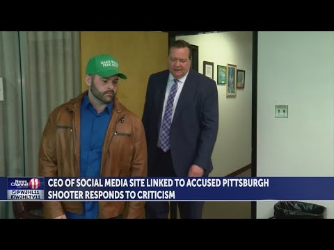 Gab.com CEO provides interview following Pittsburgh synagogue shooting