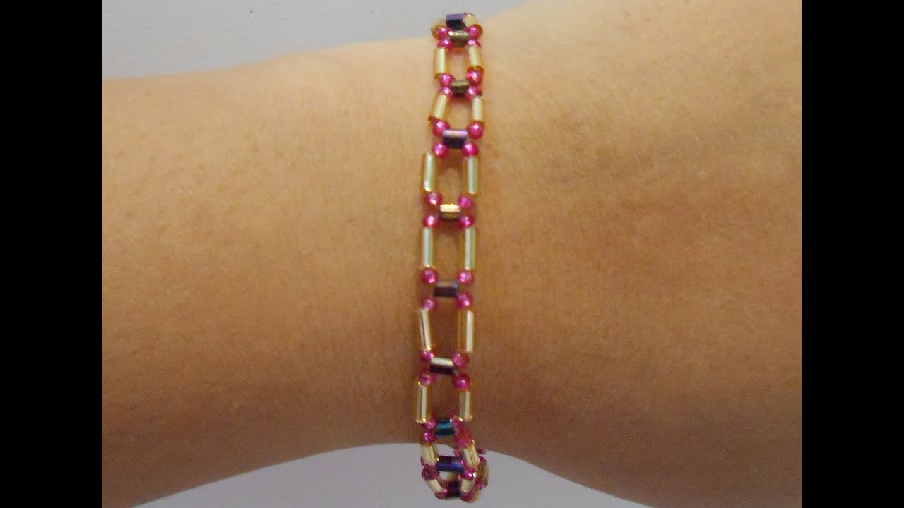 madeinaday glass gold beads stone making bracelet diy for made a in bead wood com day bracelets