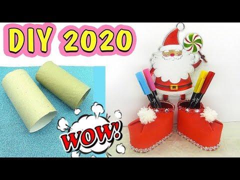 DIY Новогодние ПОДЕЛКИ своими руками 2020 ⛄ Поделки на Новый Год своими руками 2020