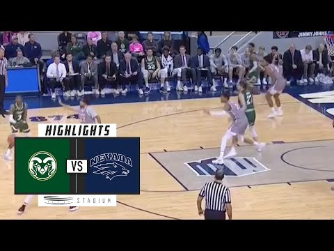 Colorado State vs. No. 7 Nevada Basketball Highlights (2018-19) | Stadium