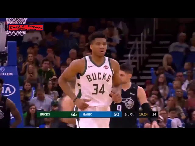 Full Game Recap: Milwaukee Bucks vs Orlando Magic January 19/ 2019