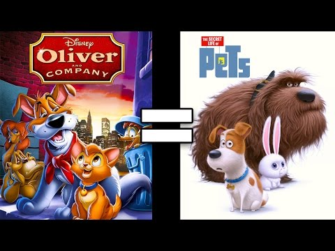 24 Reasons Oliver & Company & The Secret Life of Pets Are The Same Movie