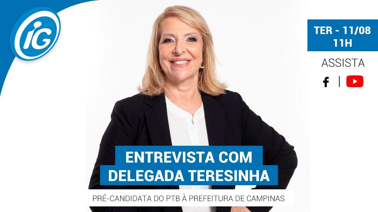 Eleições 2020 - Campinas: Delegada Teresinha (PTB)