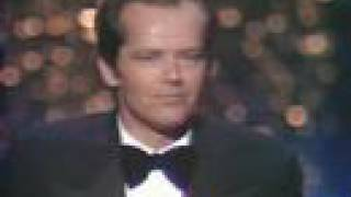Jack Nicholson Wins Best Actor: 1976 Oscars