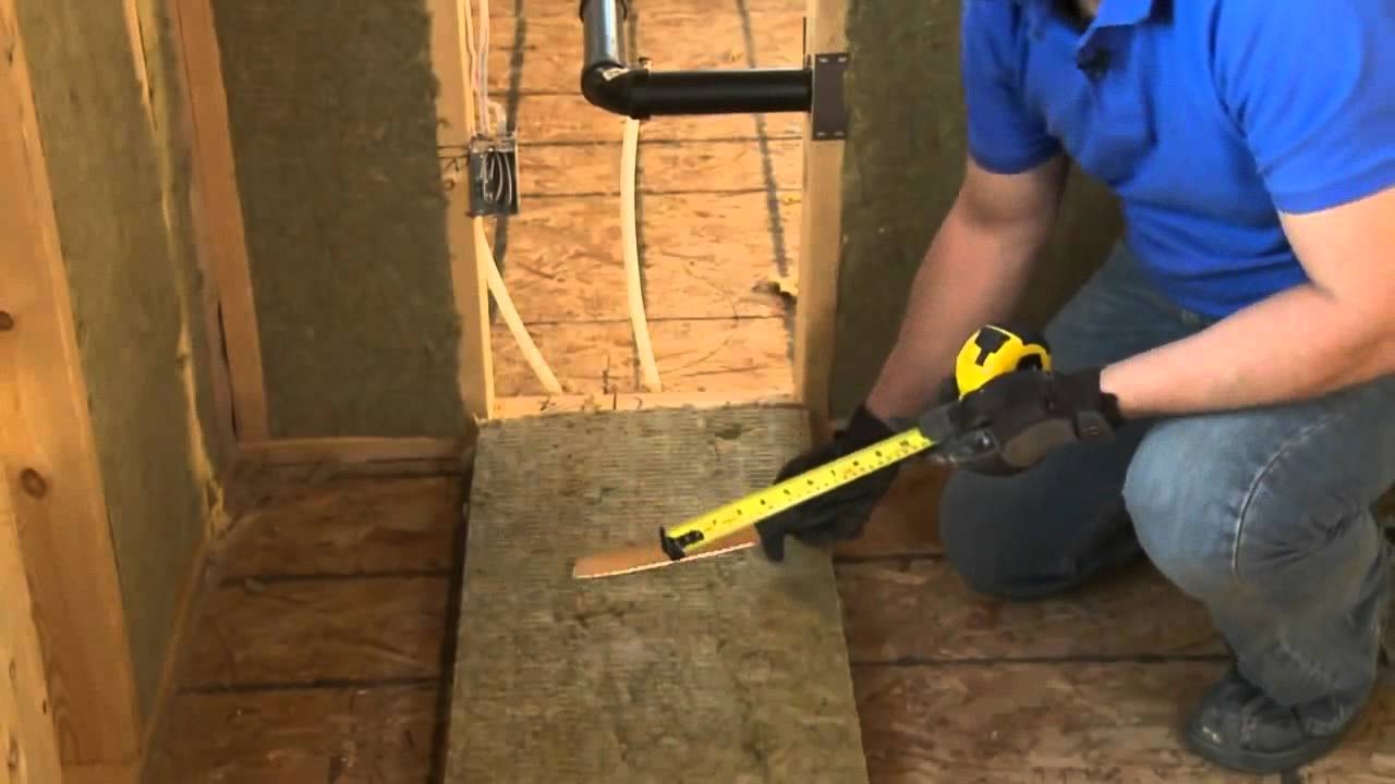 Insulate And Soundproof An Interior Wall Or Room With Roxul   YouTube