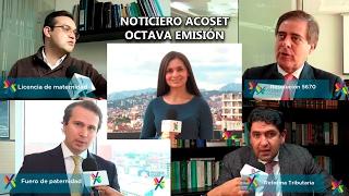 NOTICIERO ACOSET - OCTAVA EMISIÓN