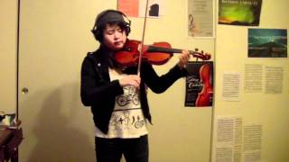 David Guetta - Titanium  Violin