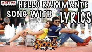 Orange Full Songs With Lyrics - Hello Rammante Song - Ram Char…