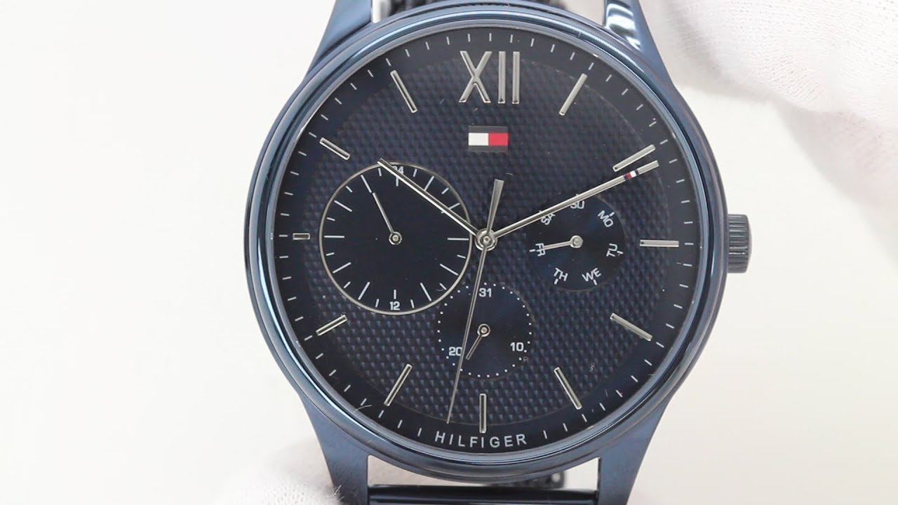 07144b5a3778d Hands on with the Tommy Hilfiger 1791421 - YouTube