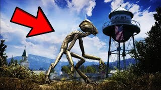 Far Cry 5: Alien Easter Egg! (Ultra Rare 'Magnopulser' Gun)