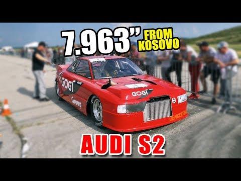 Red Audi S2 Enters 7sec Club !! | Autokinisimag