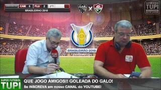 Atlético-MG 5 x 2 Fluminense - 11ª Rodada - Brasileirão - 10/06/2018