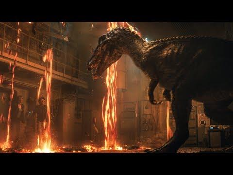 4 NEW Jurassic World Fallen Kingdom CLIPS + Trailers - Jurassic World 2