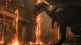 4 NEW Jurassic World Fallen Kingdom CLIPS + Trailers - Jurassic World 2