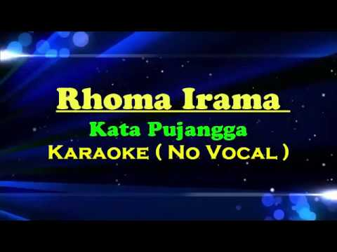 Sampling Karaoke Kata Pujangga dengan Lirik ( No Vocal )