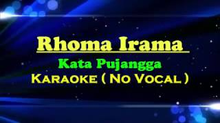 Video Sampling Karaoke Kata Pujangga dengan Lirik ( No Vocal ) download MP3, 3GP, MP4, WEBM, AVI, FLV Oktober 2018